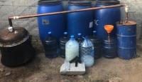 Kırıkkale'de 950 litre sahte içki ele geçirildi