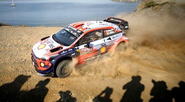 WRCnin 5. yarışı Türkiye Rallisinde ikinci gün
