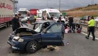 Anadolu Otoyolu'nda kaza: 1 ölü, 4 yaralı