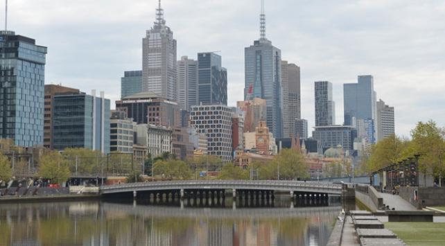 Melbournede koronavirüs sessizliği hakim