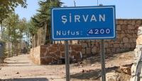 Siirt'in Şirvan ilçesi karantinaya alındı