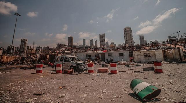 Beyrut Limanındaki patlama sonrası kaybolan 9 kişi hala aranıyor