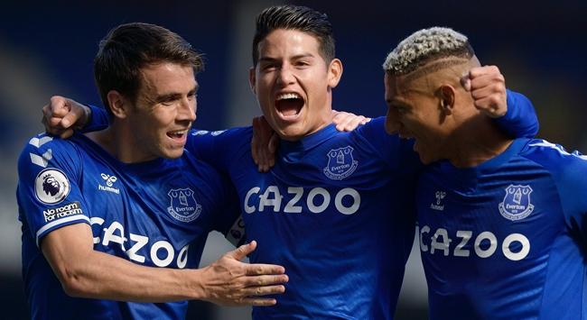 Everton farklı yendi