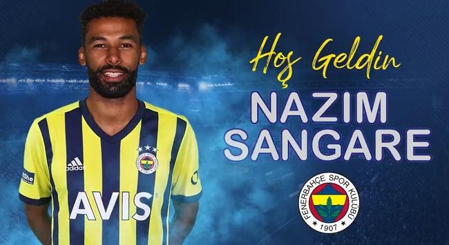 Nazım Sangare Fenerbahçede