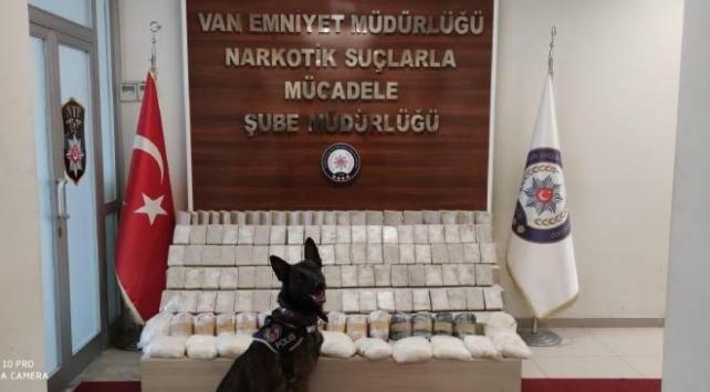 Vanda 79 kilo uyuşturucu madde ele geçirildi