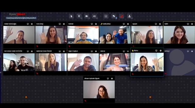 Yerli video konferans BizBize ilk sınavdan geçti