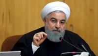 İran Meclis Başkanı'ndan Ruhani'ye ABD yaptırımları eleştirisi