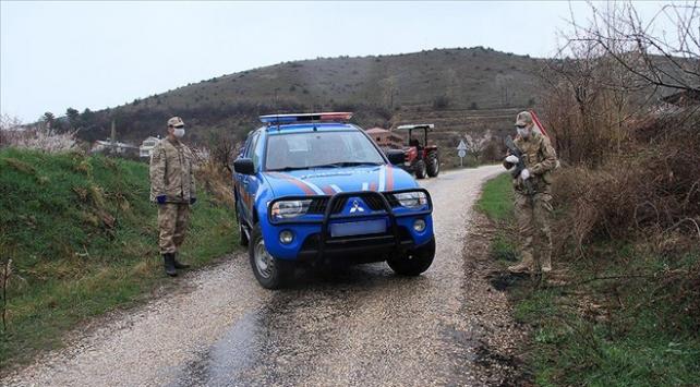 Kütahyada iki köy ve bir mahalle karantinaya alındı