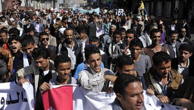 Yemende BAE destekli güçler göstericilere ateş açtı