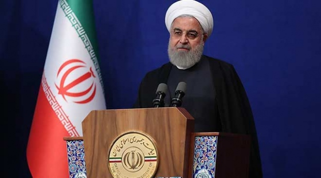 İran Cumhurbaşkanı Ruhani: ABD zorbalıkla muamele ederse bizden kesin bir cevap alır