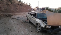 Siirt'te teröristlerce yola patlayıcı tuzaklandı