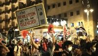 İsrail'de karantinaya rağmen Netanyahu karşıtı gösteriye binlerce kişi katıldı