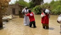 Türkiye'den Sudan'da sel mağdurlarına yardım eli