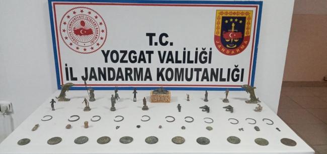 Yozgatta tarihi eser operasyonunda yakalanan 4 kişi tutuklandı
