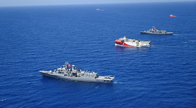 Oruç Reisin kaptanı Uzşen: Donanmanın bizimle olması ekstra motivasyon kaynağı oldu
