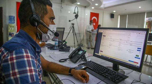 Adanada COVID-19 Çağrı Merkezi ile evde test ve tedavi imkanı
