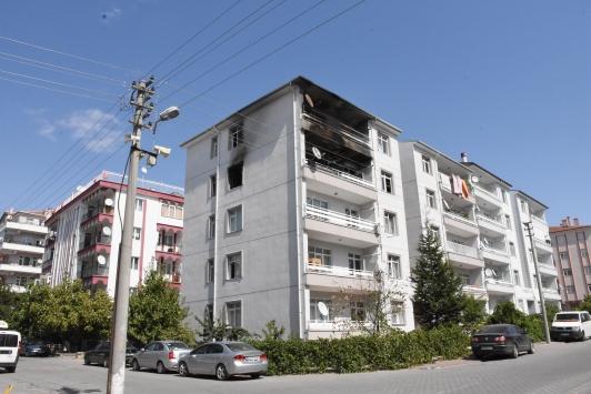 Kırşehirde evde çıkan yangında bir çocuk öldü