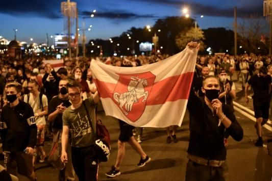 Belarustaki protestolarda 442 kişi gözaltına alındı