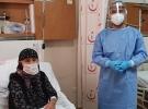 Koronavirüsü atlatan 104 yaşındaki kadın taburcu oldu