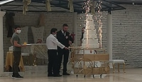Karantinayı ihlal edip düğün salonunda çalışan sanığa hapis istemi