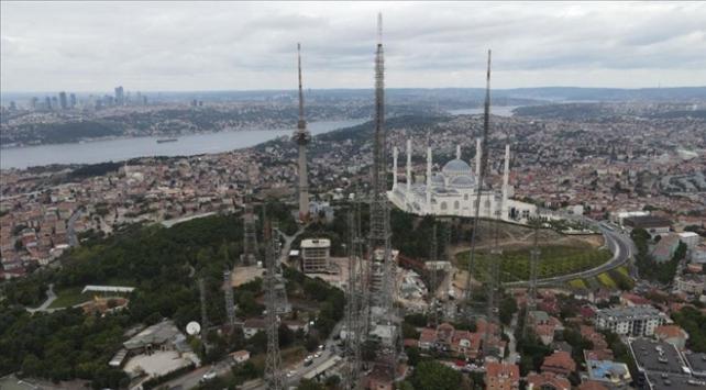 Çamlıca Kulesi hizmete girdi, eski antenler kaldırılıyor