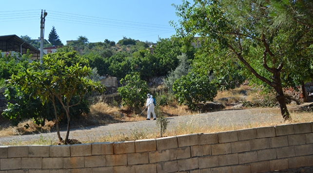 Karsta bir köy karantinaya alındı