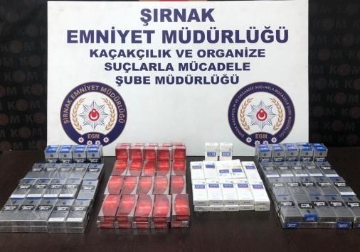 Şırnakta kaçakçılık ve uyuşturucu operasyonlarında 5 tutuklama