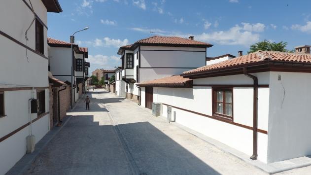 Konyada tarihi evler kentsel dönüşüm ile yaşatılıyor