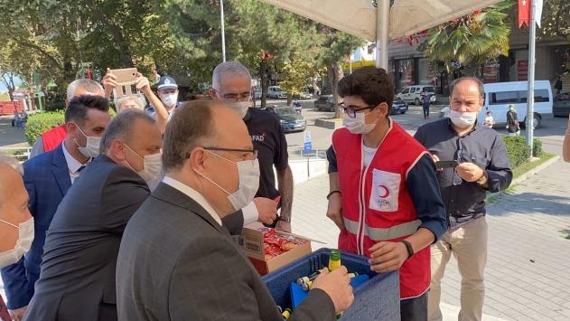 """Zonguldakın """"Kanında Hayat Var, Sensiz Olmaz Kan Dostum"""" kampanyası"""