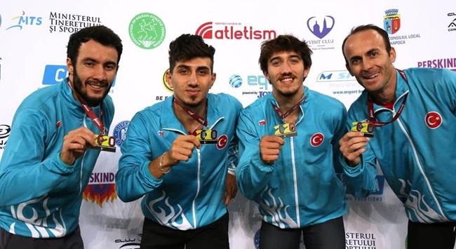 Milli atletler Balkan Şampiyonasında tarihi başarı elde etti
