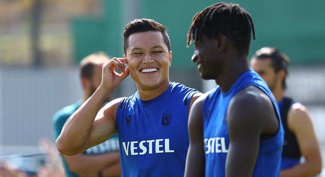 Trabzonsporda Marlon sevinci