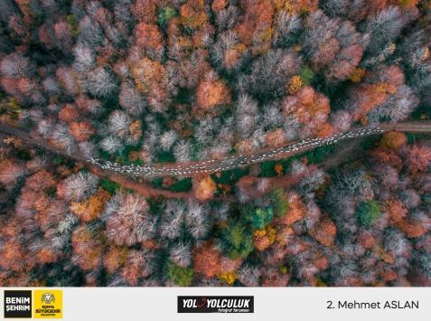 """Konyada """"Yol ve yolculuk"""" temalı fotoğraf yarışmasının kazananları belli oldu"""