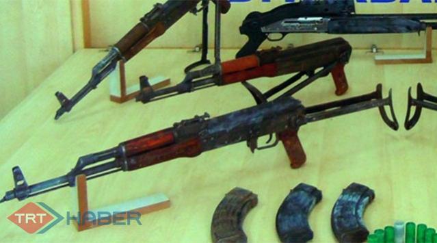 2 Çuval Silah Ele Geçirildi