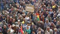 Bolivya'da Yerliler Protesto İçin Yollarda