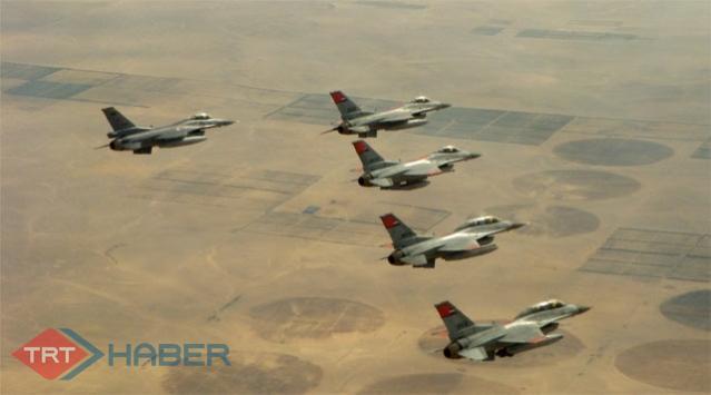Türk Jetleri Terör Yuvası Kandili Vurdu