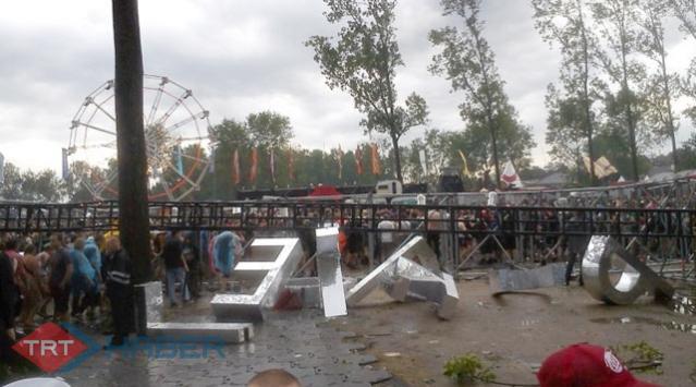 Gençlik Festivalini Fırtına Vurdu