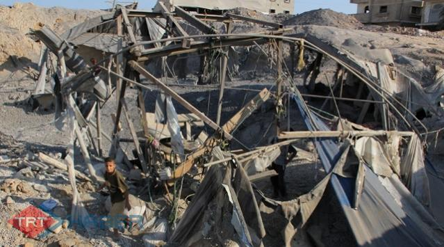 Gazzeye 3 Ayrı Saldırı Daha