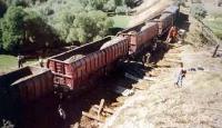 Malatya'da Yük Treni Otomobile Çarptı