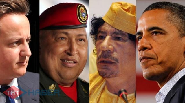 Kaddafiye Gitti Gözüyle Bakılıyor