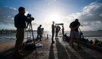 Binlerce Kişi Güneş Tutulmasını İzledi