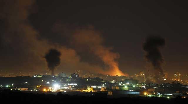 İsrail Uçakları Kan Kusuyor