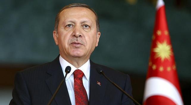 Cumhurbaşkanı Erdoğandan şehit ailesine taziye mesajı