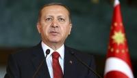 Cumhurbaşkanı Erdoğan'dan şehit ailesine taziye mesajı