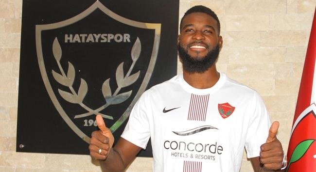 Hatayspor stoper Jean Claude Billongu transfer etti
