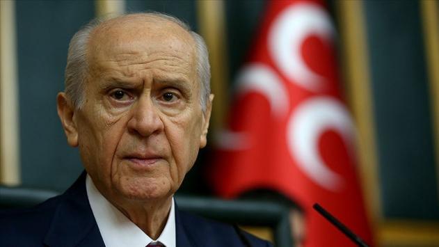 MHP Lideri Bahçeliden CHP Genel Başkanı Kılıçdaroğluna tepki
