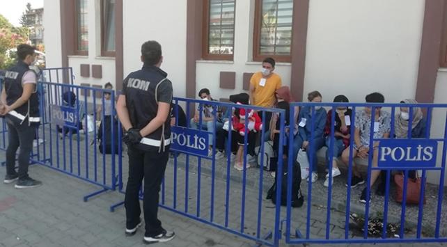 Muğlada 21 düzensiz göçmen yakalandı
