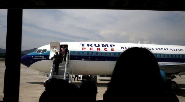 ABD Başkan Yardımcısı Pencein uçağı zorunlu iniş yaptı