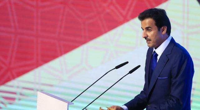 Katar Emirinden uluslararası topluma İsrail acizliği tepkisi