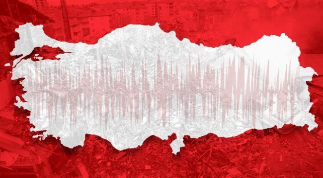 Türkiye depremler açısından hareketli bir yıl geçiyor