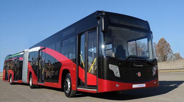 Türkiyede üretilen otobüs, minibüs ve midibüsler 87 ülkede yollarda